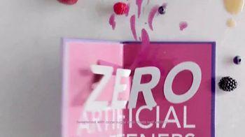 Dannon Light & Fit TV Spot, 'Zero Artificial Sweeteners'