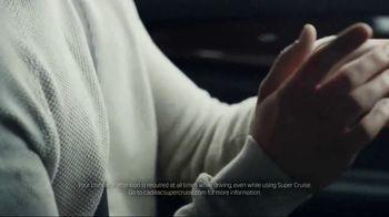 Cadillac Super Cruise TV Spot, 'Let Go: Conversation' Song by Simon Goubert - Thumbnail 5