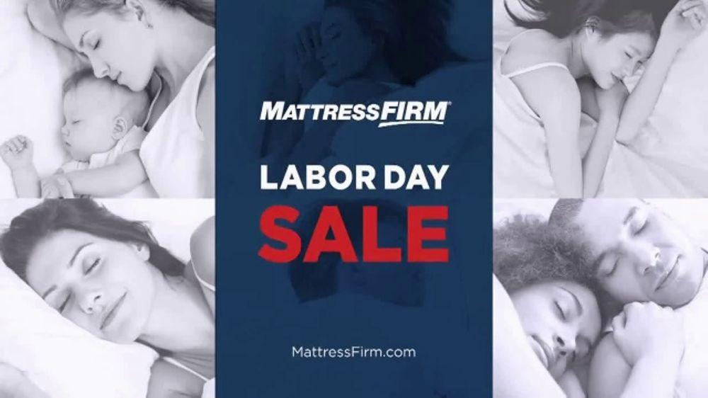 mattress firm labor day sale tv commercial 39 it s mattress firm s labor day sale 39. Black Bedroom Furniture Sets. Home Design Ideas