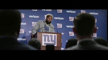 Verizon Unlimited TV Spot, 'Red Zone' Featuring Odell Beckham Jr. - Thumbnail 1