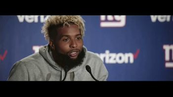 Verizon Unlimited TV Spot, \'Red Zone\' Featuring Odell Beckham Jr.