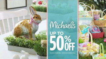 Michaels TV Spot, 'All Things Easter' - Thumbnail 8