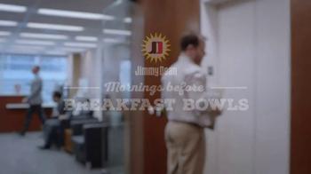 Jimmy Dean Meat Lovers Breakfast Bowl TV Spot, 'Mid-Morning Wall: Elevator'