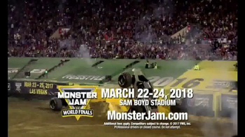Monster Jam TV Spot, 'Sam Boyd Stadium: 2018 World Finals'