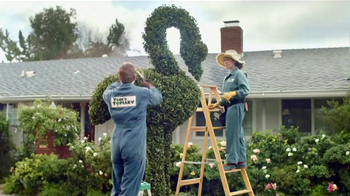 GoDaddy GoCentral TV Spot, 'Lawn Art' Song by Rick Astley - Thumbnail 1