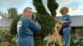 GoDaddy GoCentral TV Spot, 'Lawn Art' Song by Rick Astley - Thumbnail 4