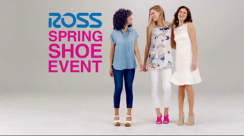 Ross Spring Shoe Event TV Spot, 'Step Into Savings'
