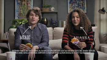 Taco Bell Doritos Locos Tacos TV Spot, 'Did You Know?: Feed a Dream' - Thumbnail 1