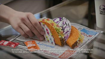 Taco Bell Doritos Locos Tacos TV Spot, 'Did You Know?: Feed a Dream' - Thumbnail 7