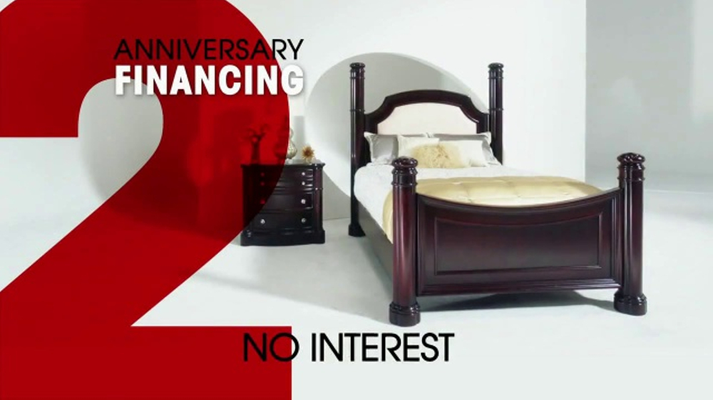 rooms to go 26th anniversary sale tv commercial 39 last two days 39. Black Bedroom Furniture Sets. Home Design Ideas