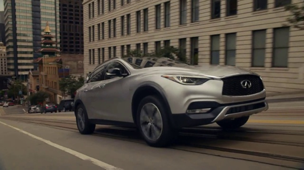 Christie Brinkley Commercial >> Infiniti QX30 TV Commercial, 'Showing Off' - iSpot.tv