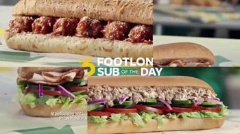 Subway $6 Footlong Sub of the Day TV Spot, 'Dancing Feet' - Thumbnail 7