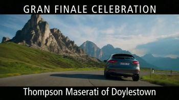 maserati gran finale celebration tv commercial the maserati of suvs t2 ispot tv maserati gran finale celebration tv commercial the maserati of suvs t2 video
