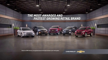 Chevrolet Bonus Tag Event TV Spot, 'List of Awards: Select Chevys'