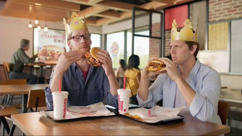 Burger King Steakhouse King TV Spot, 'Jackpot'