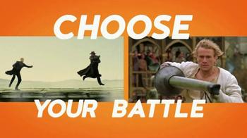 Crackle.com TV Spot, 'Choose Your Battle'