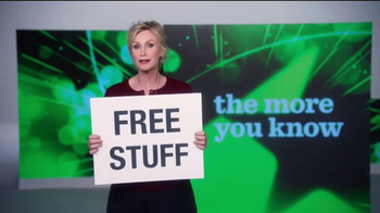 The More You Know TV Spot, 'Environment: Free Stuff' Featuring Jane Lynch