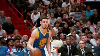 NBA App TV Spot, 'Just One Play: Hitting His Target' Ft. Klay Thompson - Thumbnail 2