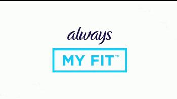 Always Ultra Thin TV Spot, 'Always My Fit: retratos' [Spanish] - Thumbnail 5