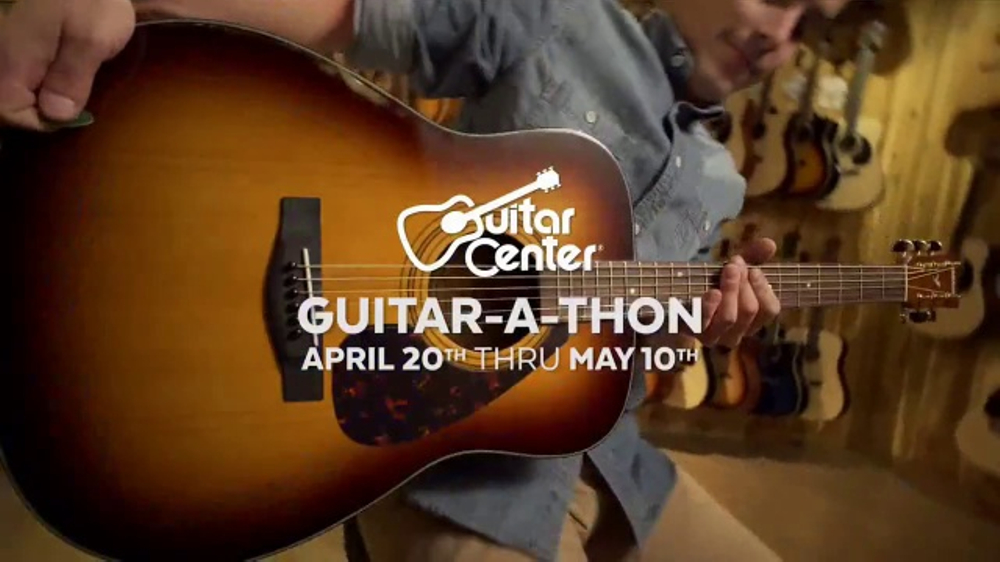 guitar center guitar a thon tv commercial 39 gibson and martin guitars 39. Black Bedroom Furniture Sets. Home Design Ideas