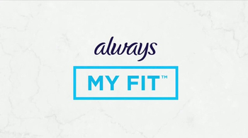 Always TV Spot, 'Always My Fit: Portraits' - Thumbnail 5