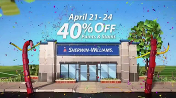 Sherwin-Williams 4-Day Super Sale TV Spot, \'April 2017\'