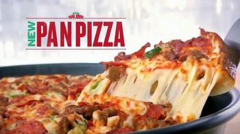 Papa John's Pan Pizza TV Spot, 'Perfect Bite'