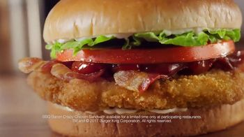 Burger King BBQ Bacon Crispy Chicken Sandwich TV Spot, 'Lost in the Sauce'