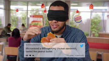Burger King BBQ Bacon Crispy Chicken TV Spot, 'Very Tasty'