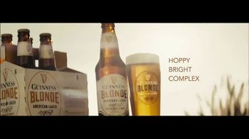 Guinness Blonde American Lager TV Spot, 'Lots of Flavor'