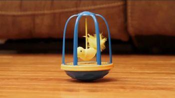 Flutter Frenzy TV Spot, 'Simulated Bird Toy'
