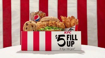 KFC $5 Fill Up: Zinger TV Spot, 'Serving Platter'