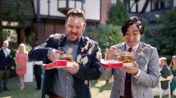 Jack in the Box BBQ Bacon Cheeseburger Combo TV Spot, 'Crave Van: Wedding'