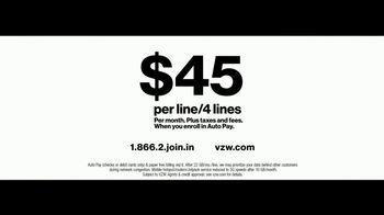 Verizon TV Spot, 'Live Wedding: Four Lines' Featuring Thomas Middleditch - Thumbnail 9
