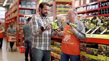 The Home Depot Father's Day Savings TV Spot, 'Toy Store: Ryobi'