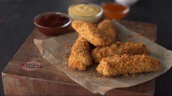 Boston Market Oven Crisp Chicken Strips TV Spot, 'Hand-Breaded and Baked'