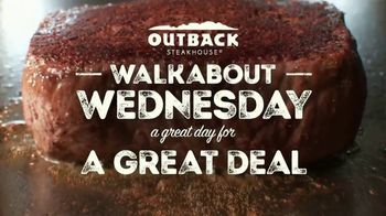 Outback Steakhouse Walkabout Wednesday TV Spot, 'Sirloin or Chicken'