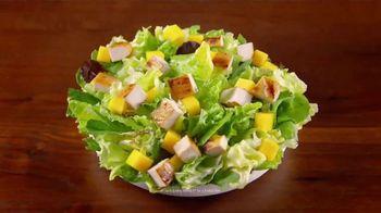 Wendy's Strawberry Mango Chicken Salad TV Spot, 'Perfect Salads' - Thumbnail 8