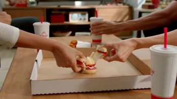 Arby's Pizza Slider TV Spot, 'Any Big Game'