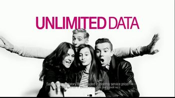 T-Mobile Unlimited Data TV Spot, '4 Unlimited Lines For $40 Each'