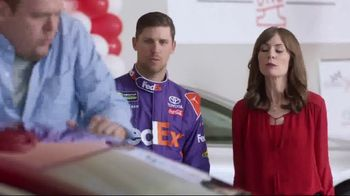 Toyota Camry One Event TV Spot, 'Test Drive' Featuring Denny Hamlin