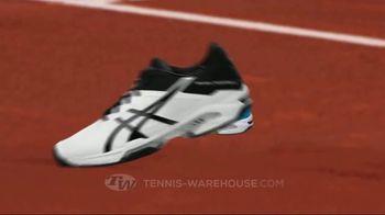 Tennis Warehouse ASICS Solution Shoe Sale TV Spot, 'Break the Speed Limit'