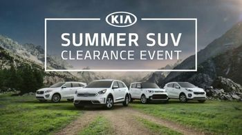 Kia Summer SUV Clearance Event TV Spot, 'Award-Winning SUVs'