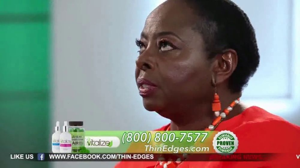 Vitalize Natural Hair Growth Treatment Tv Commercial
