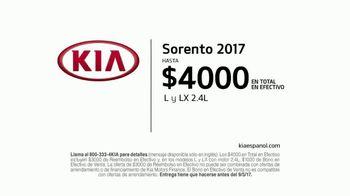 Kia Evento Summer SUV Clearance TV Spot, 'Premios: 2017 Sorento' [Spanish] - Thumbnail 9
