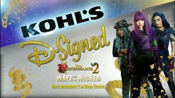 Kohl's D-Signed Descendants 2 Ways to Be Wicked Collection TV Spot, 'Match'
