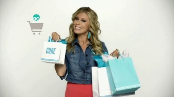 QVC Super Saturday Live TV Spot, 'Shopping for a Cure' Feat. Jill Martin - 2 commercial airings