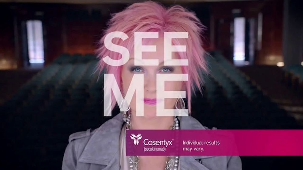 Cosentyx Tv Commercial Clear Skin Can Last 2 Featuring