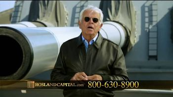 Rosland Capital TV Spot, 'Safer With Gold' Featuring William Devane