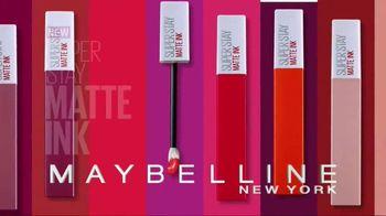 Maybelline New York SuperStay Matte Ink Liquid Lipstick TV Spot, 'Intense'